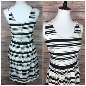 J crew striped dress